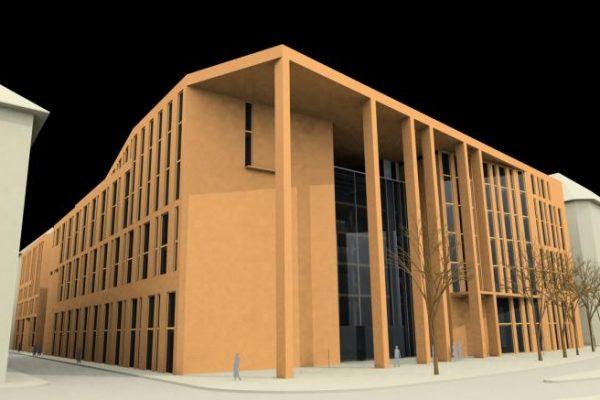 Corvinus Egyetem oktatási központja – fejlesztői pályázat