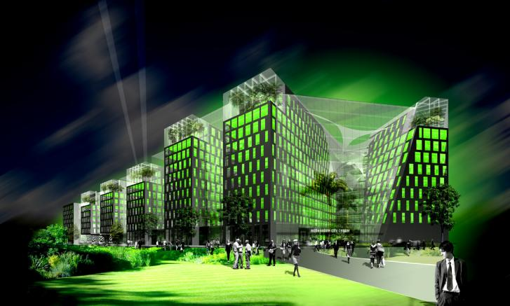 Millenniumi Városközpont – fejlesztői pályázat, 2008