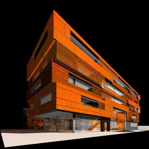 Reitter Ferenc utcai műteremház – tervpályázat