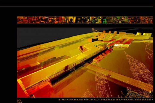 Interspar, bevásárlóközpont – tervjavaslat