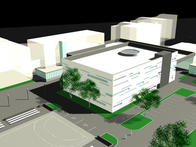 Szombathelyi Berzsenyi Dániel Főiskola könyvtára – tervpályázat