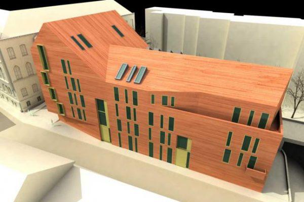 Toldy Ferenc utcai lakóépület – tervpályázat