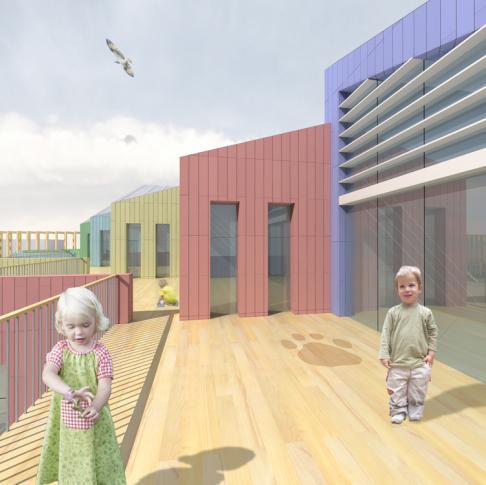 Pestszentimre Óvodacentrum – építészeti tervpályázat
