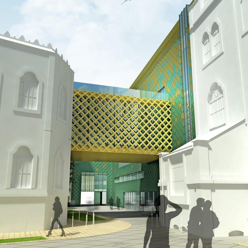 Iparművészeti Múzeum bővítése – tervpályázat