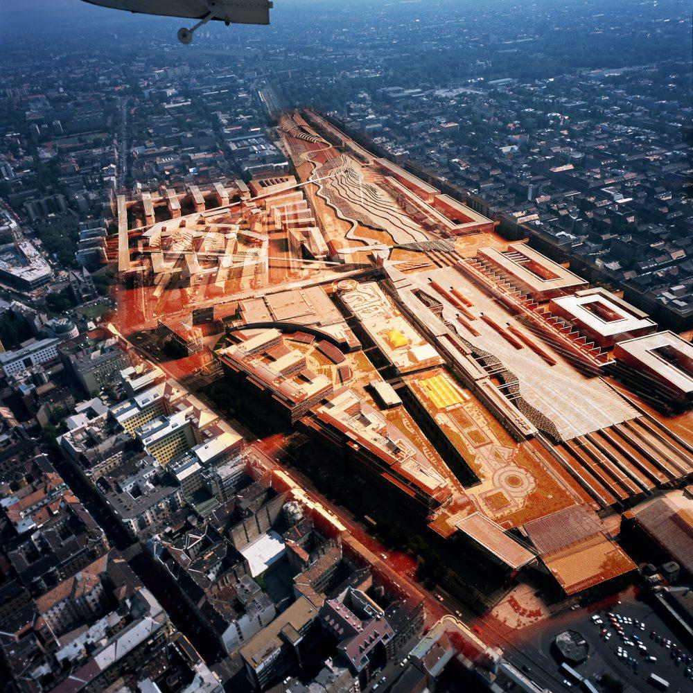 Múzeumok a Nyugati pályaudvar felülépítésén