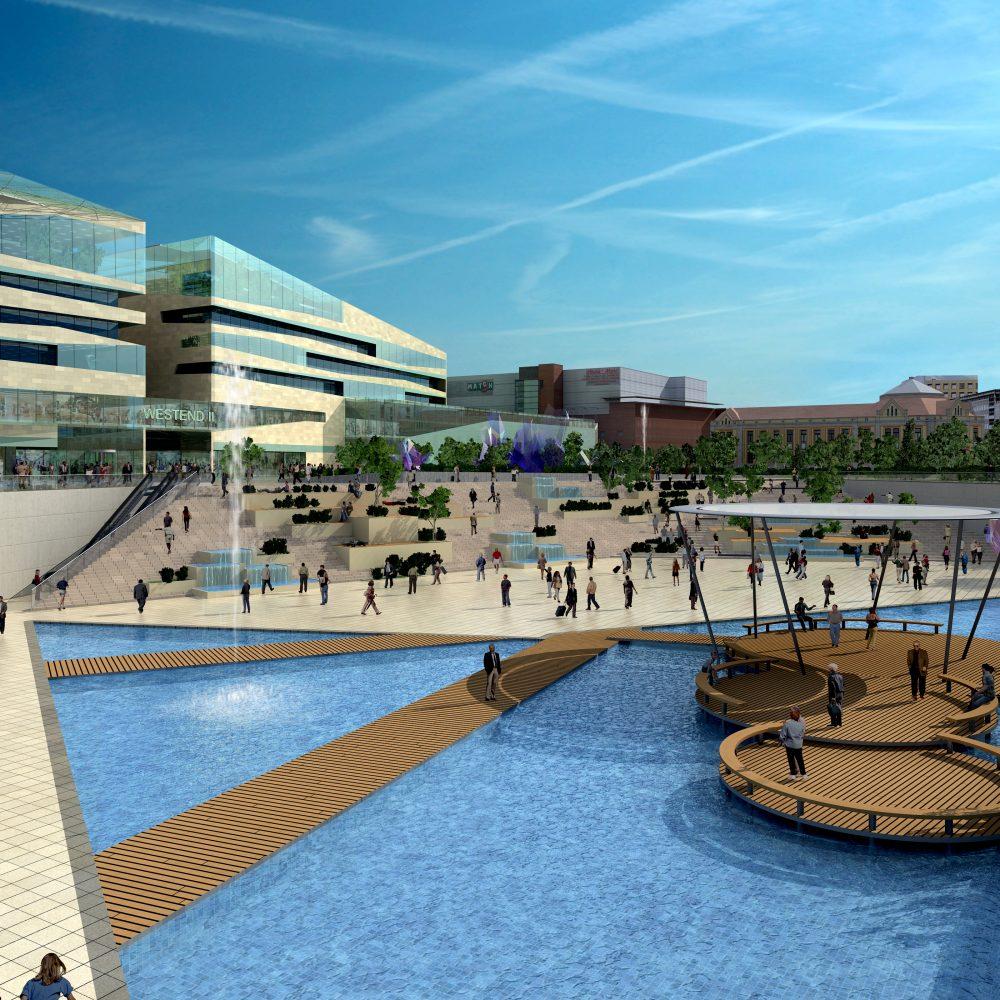 WestEnd Bevásárlóközpont bővítése