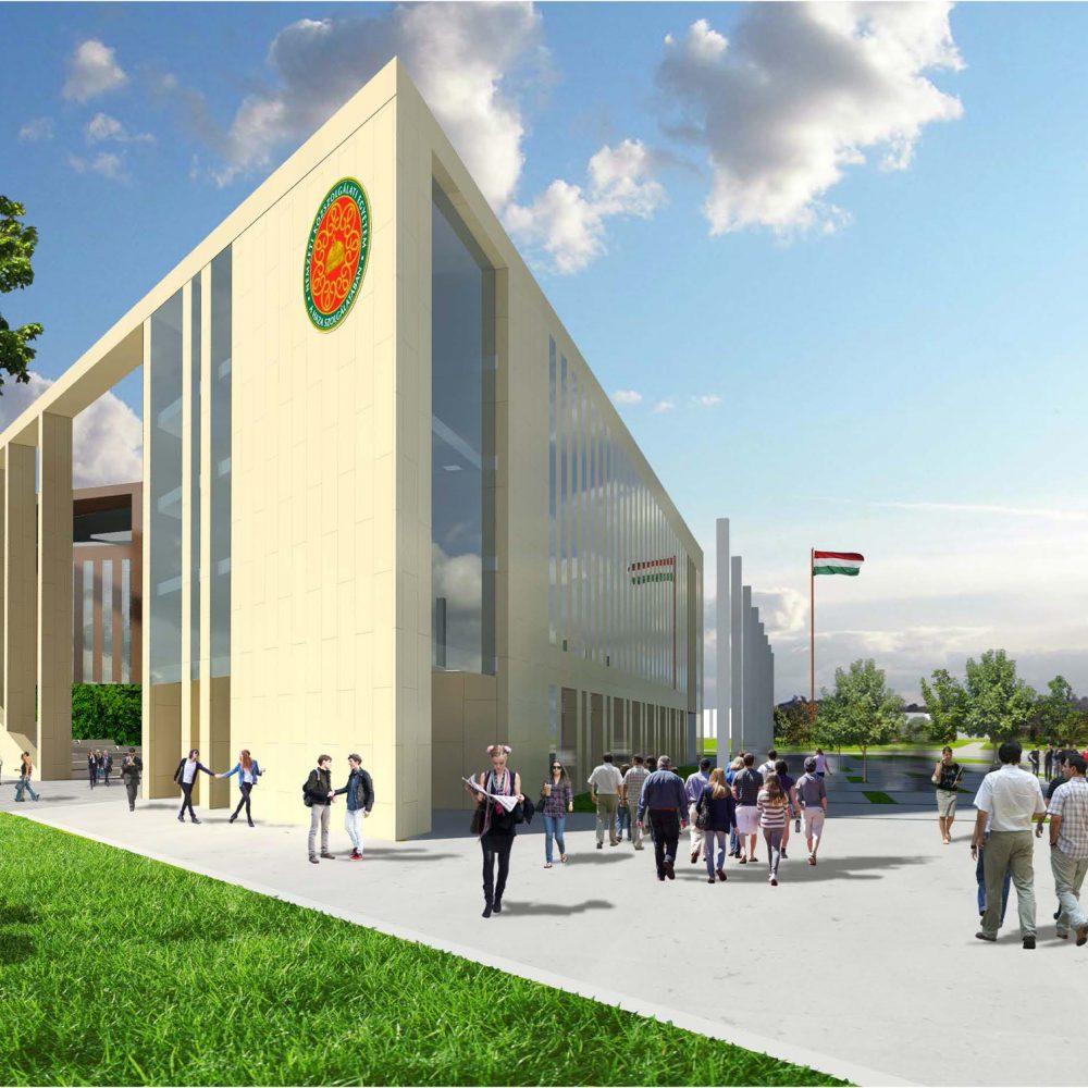 Nemzeti Közszolgálati Egyetem új oktatási épülete
